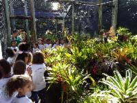 Mais de 2.800 pessoas visitam Espaço Botânico em abril