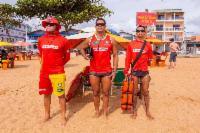 Praias da Serra têm mais guarda-vidas no Carnaval