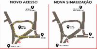 Mudanças no trânsito de Laranjeiras